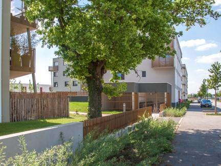 Peoch Rubio architectes, logements, la Gautrais, St Jacques de la Lande