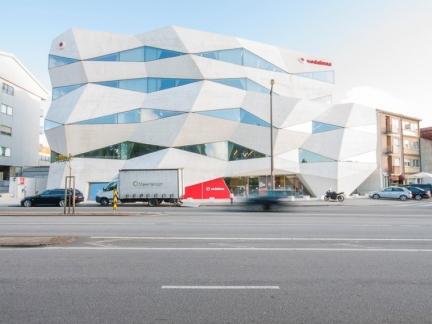 Barbosa-Guimarães, immeuble Vodafone, Porto
