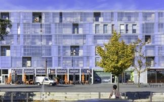 Agence Block, agence Guinée Potin, logements, ZAC de Bottière Chénaie, Nantes