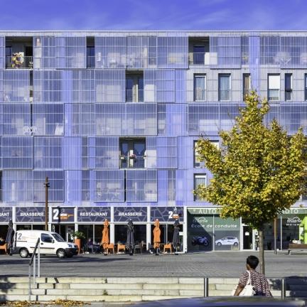 photographe d'architecture ©INTERVALphoto : Block, Guinée Potin, ZAC de Bottière Chénaie