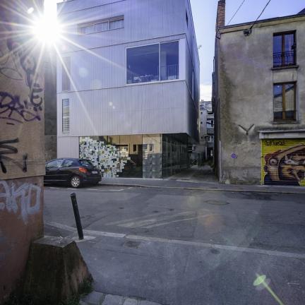 photographe d'architecture ©INTERVALphoto : Barré Lambot, Paradise, galerie d'art, Nantes.