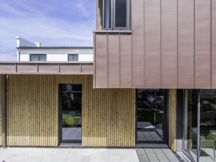 GRIGNOU & STEPHAN architectes, bureaux ISI-FISH, Concarneau (29).