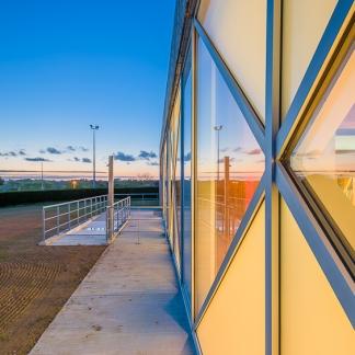 photographe d'architecture ©INTERVALphoto : LAB , piscine de Tréguier