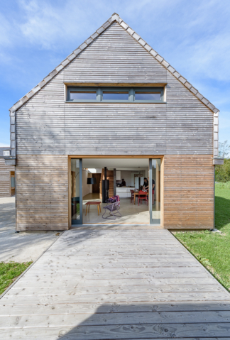 GRIGNOU & STEPHAN architectes, maison de vacances Combrit (29)