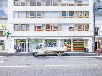 Gilbert QUÉRÉ & Christophe JOUAN architectes, résidence, Rennes (35)