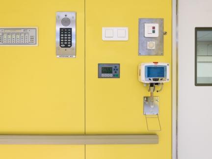 DENCOHAPPEL, plafond filtrant, bloc opératoire, polyclinique de Cesson Sévigné, 35
