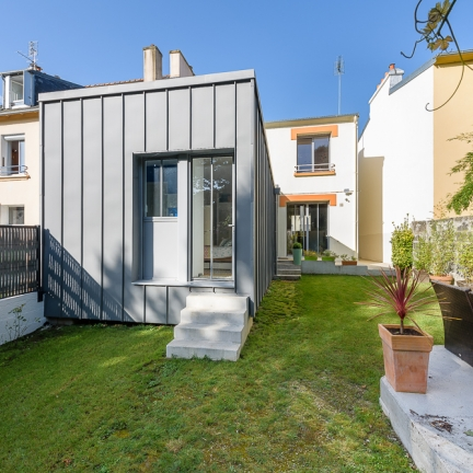 photographe d'architecture ©INTERVAL photo : LAB, architectes, maison individuelle, Brest
