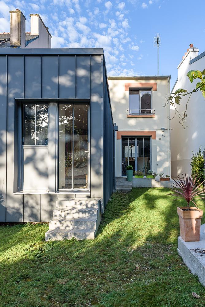 Lab architectes maison individuelle brest interval photo for Architecte bordeaux maison individuelle