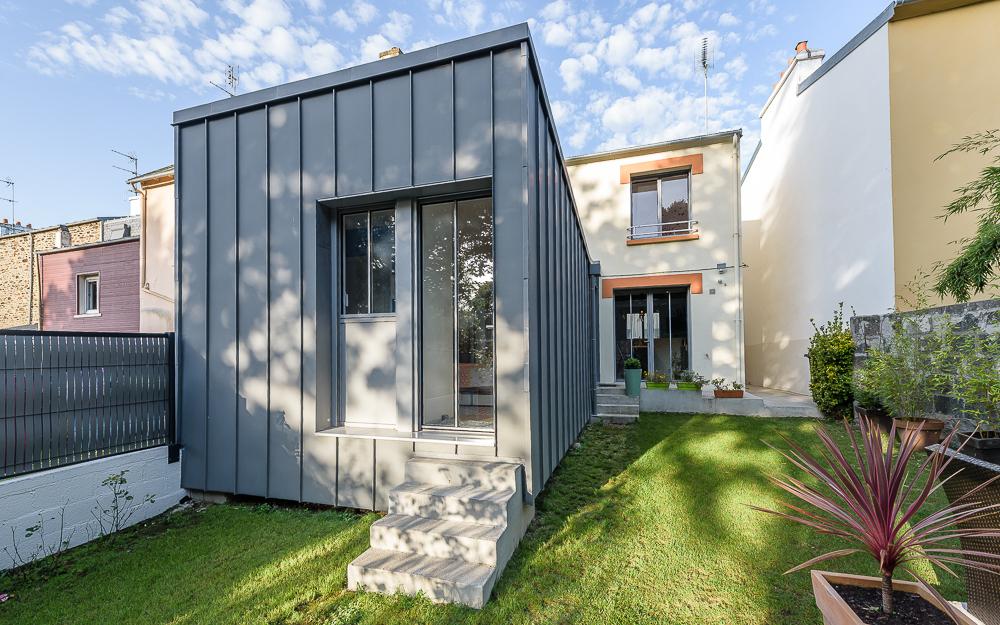 Lab architectes maison individuelle brest intervalphoto for Architecte nantes maison individuelle
