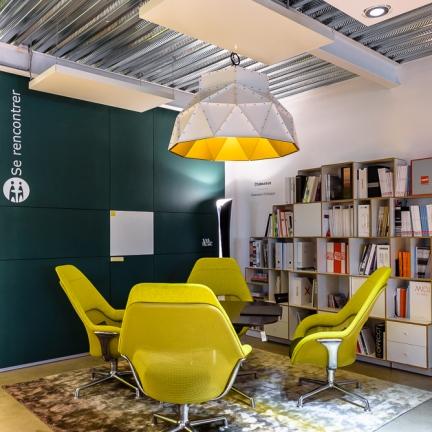 ©INTERVALphoto : photographe d'architecture, Performance Promotion, Ouest Bureau, bureau & showroom, La Mézière (35)