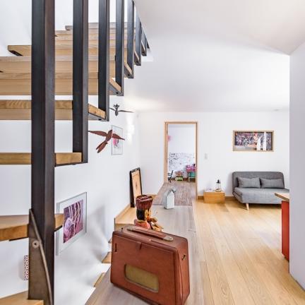 photographe d'architecture ©INTERVALphoto : Jean-Charles ROBERT Architecte, Maison JG, Rennes,2016. Sélection Prix d'Architecture de Bretagne 2016