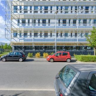 ©INTERVALphoto, photogrpahe d'architecture : Performance Promotion, bâtiment Harmonic, les Champs Blancs, Cesson-Sévigné