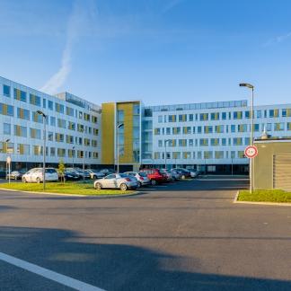 photographe d'architecture ©INTERVALphoto : Performance Promotion, bâtiment Harmonic, les Champs Blancs, Cesson-Sévigné