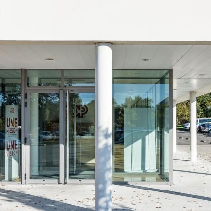 photographe d'architecture ©INTERVALphoto : Peoc'h Rubio Architectes, Performance Promotion : ADP La Fleuriaye, Carquefou, 44