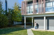 UNITE architecture, Jacques Raffegeau associé, immeuble tertiaire, La FLeuriaye, Carquefou, 44.