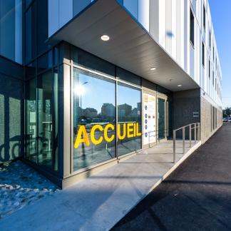 photographe d'architecture ©INTERVALphoto : Paumier Architectes, Hôtel PASSIVHAUS, rue Pressensé, La Havre.