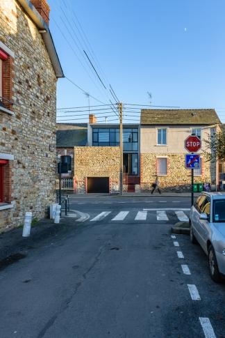 Bodenez et Le Gal La Salle architectes, maison individuelle, Rennes