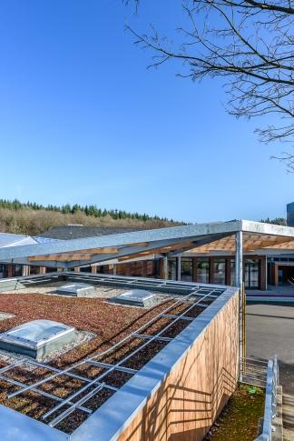 Jaouen Raimbault Architectes, Collège, Port Brillet (53)