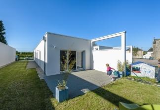 Jaouen & Raimbault Architectes, logements sociaux, Montjean, 35.