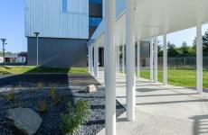 Protégé: Download : Launay Architecte (Couasnon-Launay), lycée Ozanam, passage couvert et espace pastoral, Cesson-Sévigné.