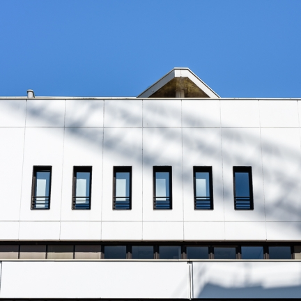 photographe d'architecture ©INTERVALphoto : Paul Bouet Architecte, restructuration La Poste Colombier, Rennes, 35