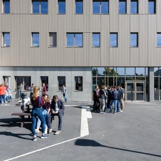 photographe d'architecture ©INTERVALphoto : Lycée Ozanam, formations, Cesson-Sévigné (35)photographe d'architecture ©INTERVALphoto : Lycée Ozanam, formations, Cesson-Sévigné (35)