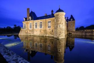 THORN, ZUMTOBEL LUMIERE, Château des Arcis, Meslay-du-Maine (53)