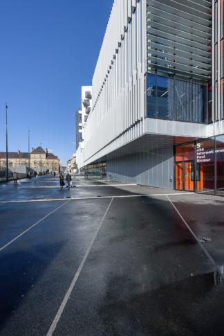 Hérault Arnod architectes, Cité Internationale Paul Ricœur, Rennes (35) *déambulations*