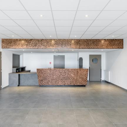 photographe d'architecture ©INTERVALphoto : Alt 127 architectes, salle communale, Baguer-Pican(35)