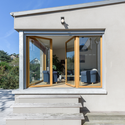 photographe d'architecture ©INTERVALphoto : Briand & Renault Architectes, réhabilitation, surélévation maison individuelle, Rennes(35)