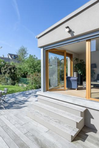 Briand & Renault Architectes, réhabilitation, surélévation maison individuelle, Rennes(35)