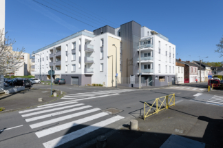 PEROBA, Clenet Brosset architecte, Promo Ouest immobilier, logements, Bella Riva, Rennes (35)