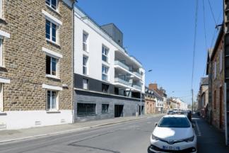 PEROBA, Clenet Brosset architecte, Promo Ouest immobilier, logements, Villa Rossi, Rennes (35)