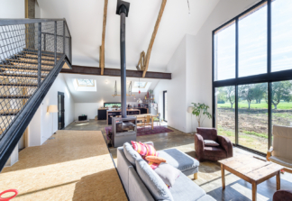 """TANGUY Mickaël Architecte, réhabilitation maison, visites """"à Vivre"""" 2018, Laillé(35)"""