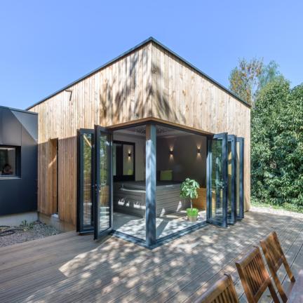 photographe d'architecture ©INTERVALphoto : Briand & Renault Architectes, extension, maison individuelle, Betton(35)