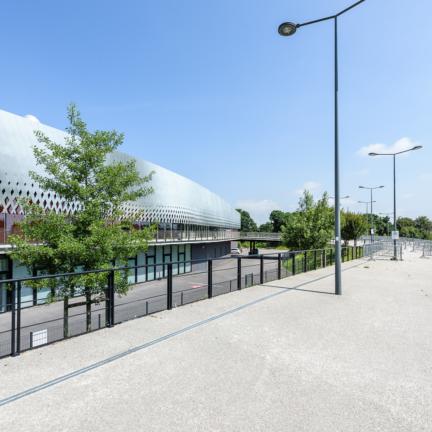 photographe d'architecture ©INTERVALphoto : Hérault Arnod Architectes, Arena, Brest (29)