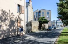 PAUMIER Architectes, logements, résidence Sénior, Saint Malo.