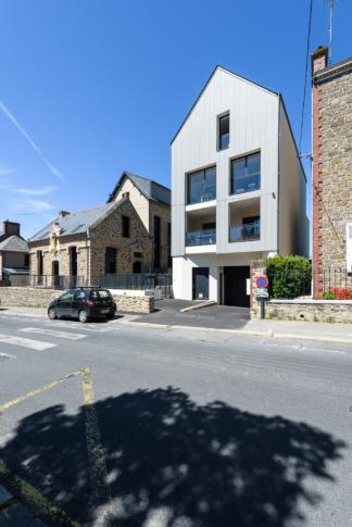 Bachmann associés architectes, groupe Authenticity, PEROBA, logements collectifs, St Malo (35)