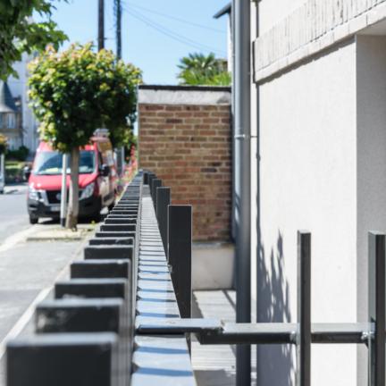 photographe d'architecture ©INTERVALphoto : Bachmann associés architectes, PEROBA, Malesherbes Immo, logements collectifs, Dinard (35)