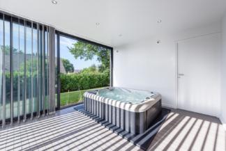 Rocher Typhaine architecte extension maison individuelle, SPA, Bruz(35)