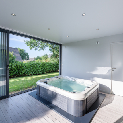 photographe d'architecture ©INTERVALphoto : Rocher Typhaine architecte extension maison individuelle, SPA, Bruz(35)