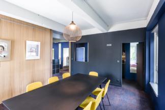 Bodenez et Le Gal La Salle architectes, aménagements plateau de bureaux, Rennes.