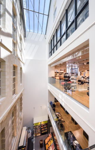 Couasnon Launay architectes, extension, Galerie Lafayette, 2018, Rennes  (35)