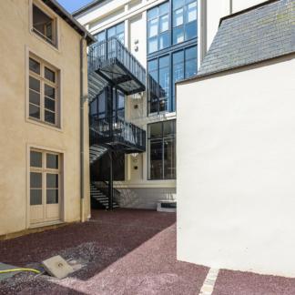 photographe d'architecture ©INTERVALphoto : Couasnon Launay architectes, extension, Galerie Lafayette, 2018, Rennes (35)