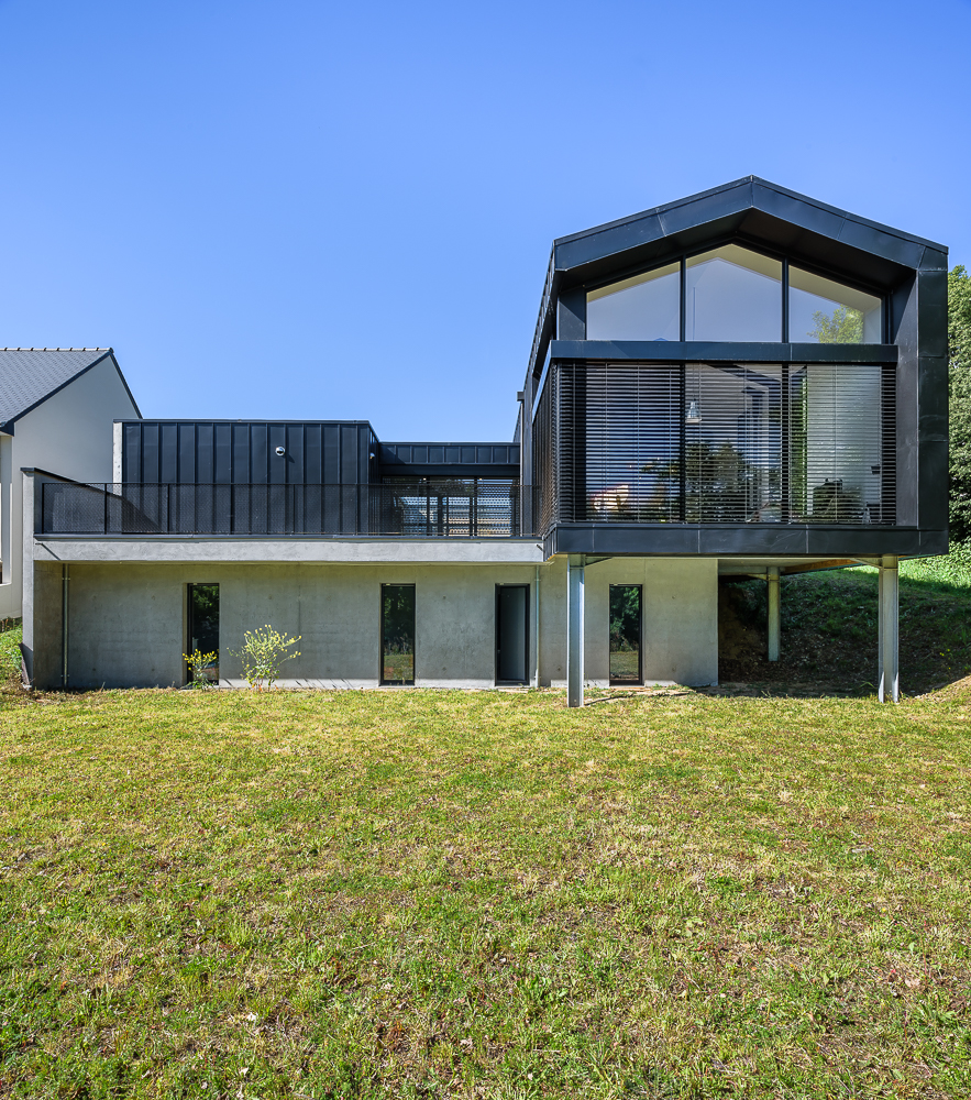 maison individuelle architecte ventana blog. Black Bedroom Furniture Sets. Home Design Ideas