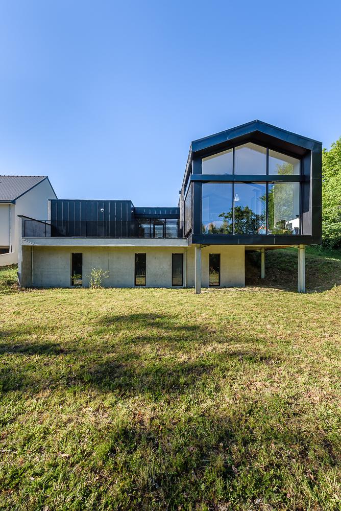 Tanguy micka l architecte maison individuelle domloup for Architecte nantes maison individuelle